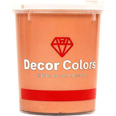 Cimento Aveludado Diamantado Bronze 1,6 kg - Decor Colors