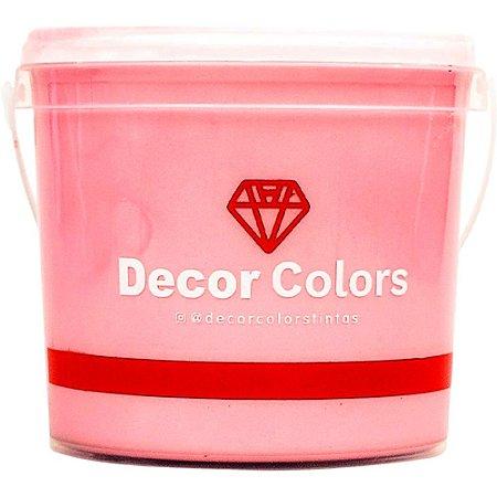 Cimento Aveludado Diamantado Baby Rosê 3,2 kg - Decor Colors