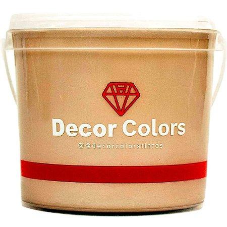 Cimento Aveludado Diamantado Avelã 3,2 kg - Decor Colors