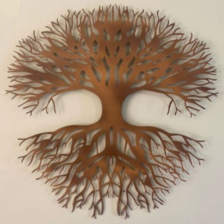 Escultura de parede Árvore - AC - 012