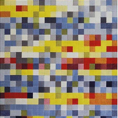 Tapete Sala / Quarto / Pixel Colorido