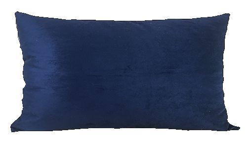 Almofada Baguete Azul Marinho DC 233-08 | 58 x 35