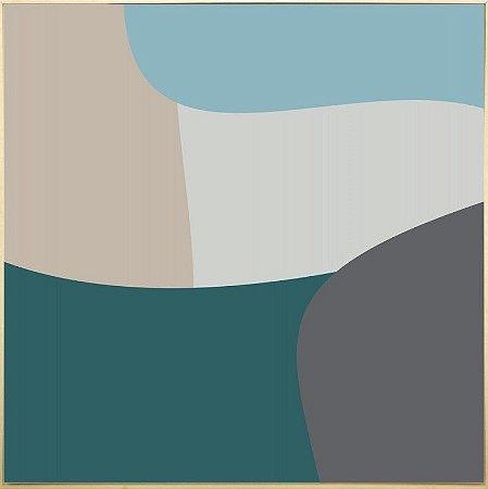 Quadro Tela Canvas Abstrata - 6153