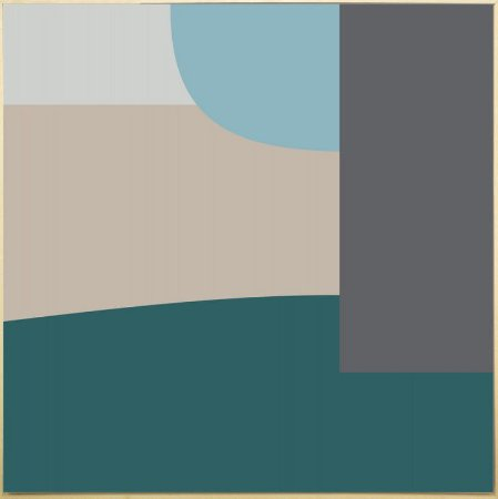 Quadro Tela Canvas Abstrata - AD6153