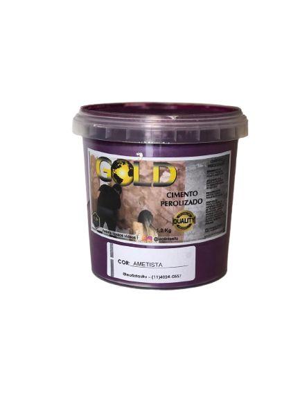 Cimento Queimado Perolizado Ametista 1.2KG