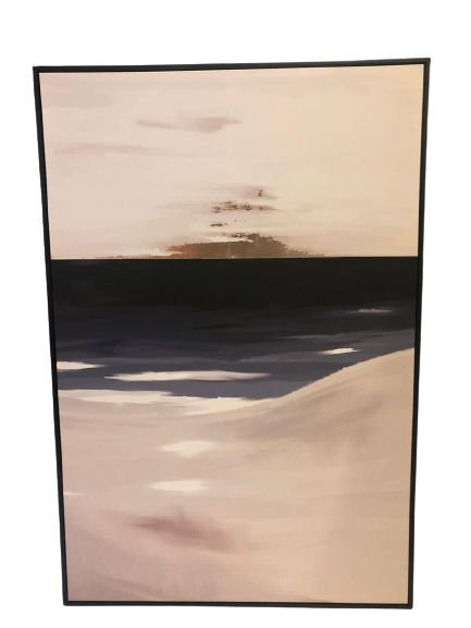 Quadro Decorativo Com Pintura Abstrato 34508