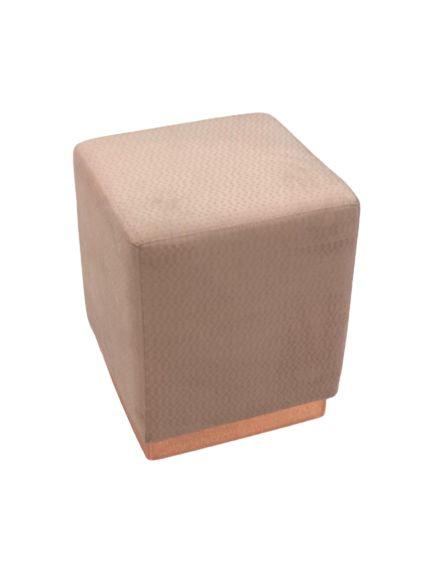 Puff Dado Premium Quadrado Rose