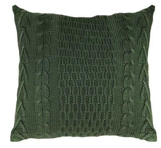 Almofada Tricô Verde  046-05    52x52