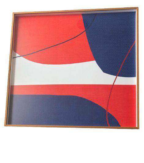 Quadro Decorativo Com Pintura Abstrato Q8507T