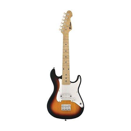 Guitarra PHX Infantil Strato 3TS Sunburst