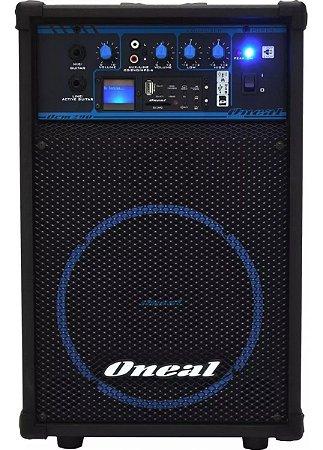 Caixa Multiuso Oneal OCM 290, 50W RMS - USB / SD/ Rádio FM / Bivolt + Brinde: Adaptador Bluetooth