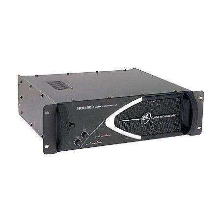 Amplificador de Potência 1000W 4 OHMS PRO 4000 - LL AUDIO