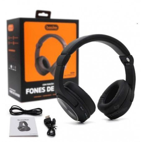 Fone de ouvido Bluetooth 5.0  Basike Ba-FON6683