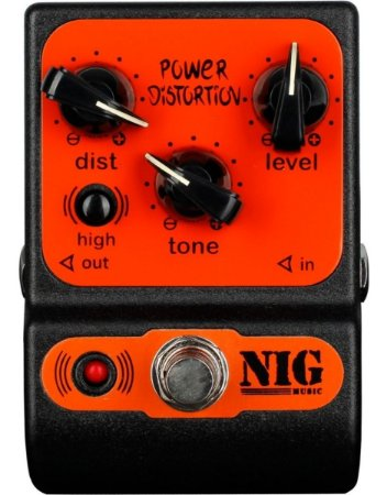 Pedal Nig Pocket PPD Power Distortion