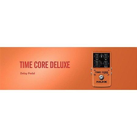 Pedal de Guitarra Nux Time Core Deluxe Multi- Delay