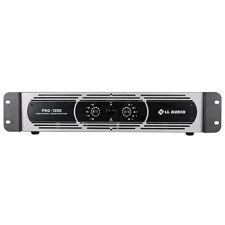 Amplificador de Potência LL Pro 12000 300W rms