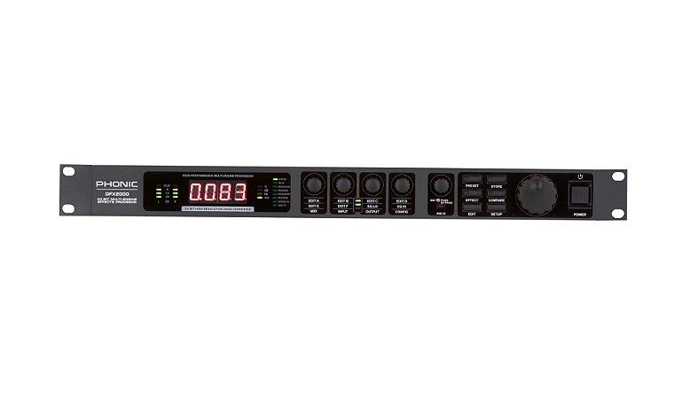 Processador de Efeitos Phonic - DFX 2000