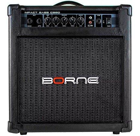 Amplificador Cubo Borne Impact Bass CB80 30w