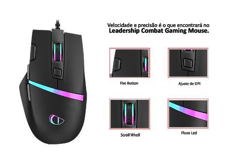 Mouse Gamer Combat - Leadership MOG-0451