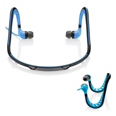 Sport Earphone  Stereo Áudio - PH200 - azul - Pulse