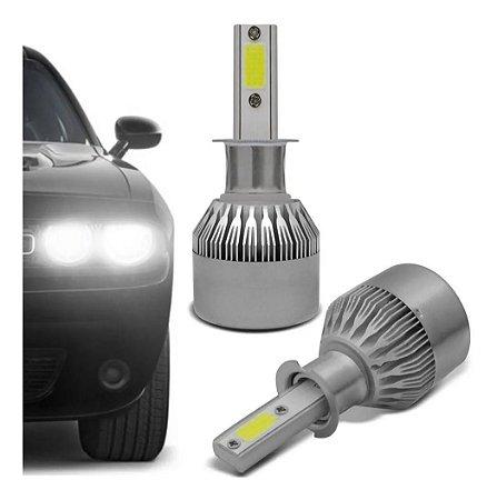 1 Par de lâmpada Super Led H1 20W 6200K Multilaser - AU832