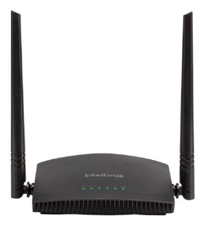 Roteador wireless 3 portas 300mbps - Intelbras  -RF 301K