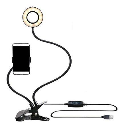 Iluminador Circular LED Ring Light Live para celular XC-RL-01