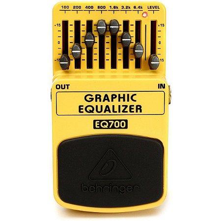 Pedal De Efeito Bass Graphic Equalizer EQ-700 Behringer