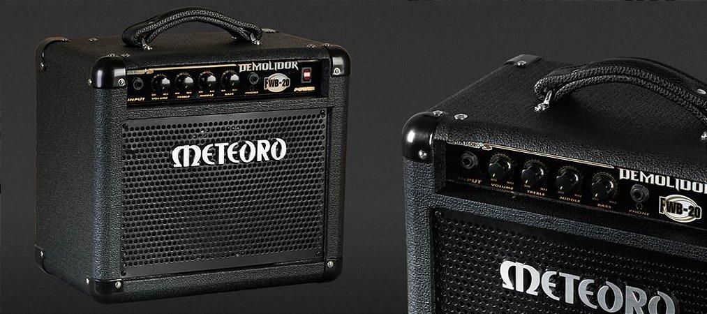 Amplificador para Baixo Demolidor Meteoro  FWB20 20wrms