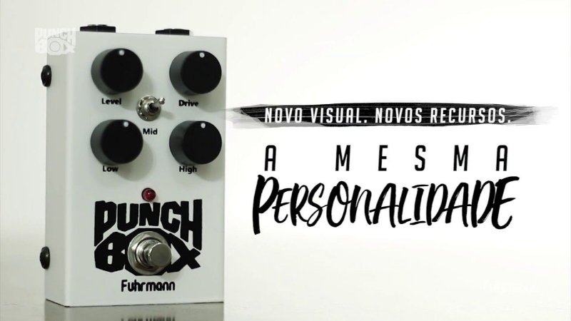 Pedal Punch Box II Fuhrmann PB02 Guitar