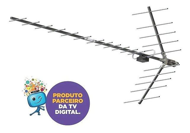 Antena Digital Uhf Yagi Proeletronic Hdtv Prohd-1118