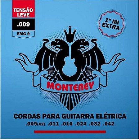 Encordoamento p/ Guitarra Monterey 009~042  EMG9