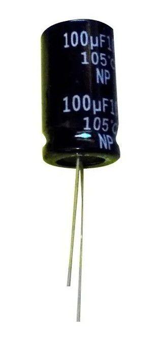 CAPACITOR 100x100v corta grave p/falante