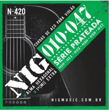 Encordoamento NIG 10/47 VIOLÃO N-42O