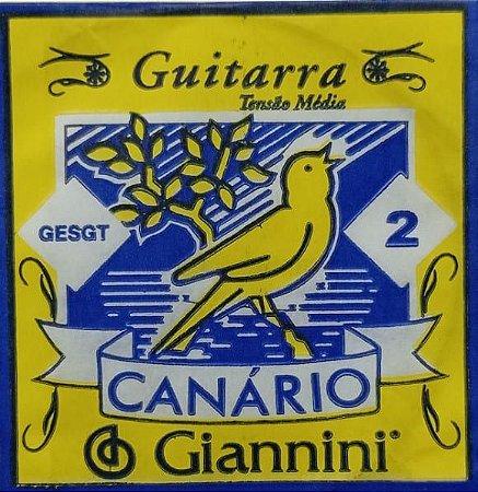 Corda P/Guitarra Canário 2ª 009   GESGT.2