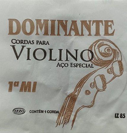 Corda P/Violino Dominante 1ª Mi    IZ     85