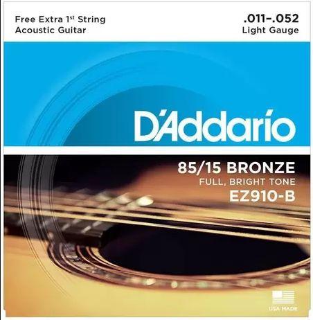 ENCORD VIOLAO D'ADDARIO EZ910 aço    011