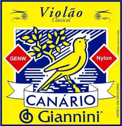 Encordoamento Violão Canário GENW nylon