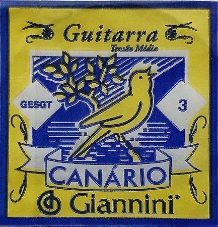 Corda P/ Guitarra Canário  3ª 009         GESGT.3