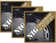 Encordoamento Cavaco/Banjo NIG N-455