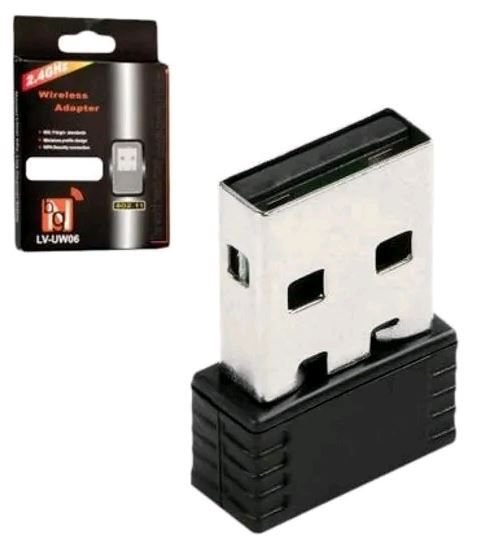 Adaptador Usb Sem Fio Wireless Wi-fi 2.4