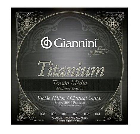 Encordamento Giannini Titanium GENWTM