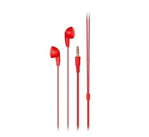 Fone de Ouvido Multilaser PH315 Vermelho