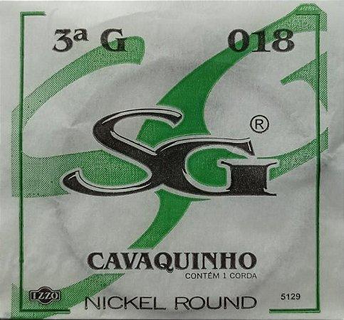 Corda P/Cavaquinho 3ª SOL      SG    129