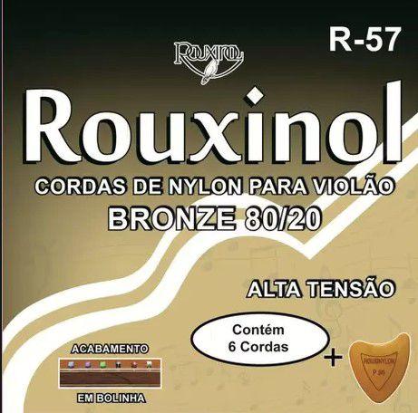 Encordoamento P/Violão Rouxinol  Nylon Tensão Alta R-57