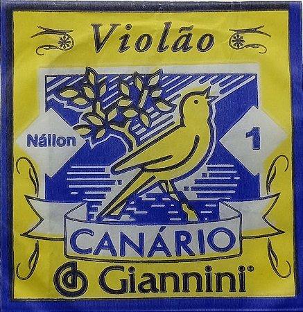 CORDA P/VIOLAO CANARIO 1ª nylon    GENW1