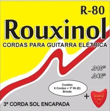 Encordoamento para Guitarra R-80 - Rouxinol
