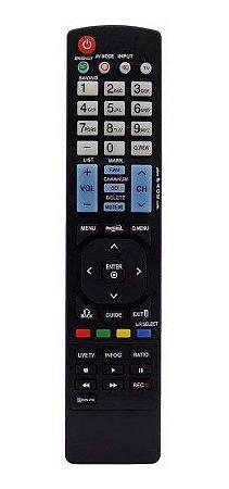 Controle Remoto MXT p/ TV LG AKB72914245
