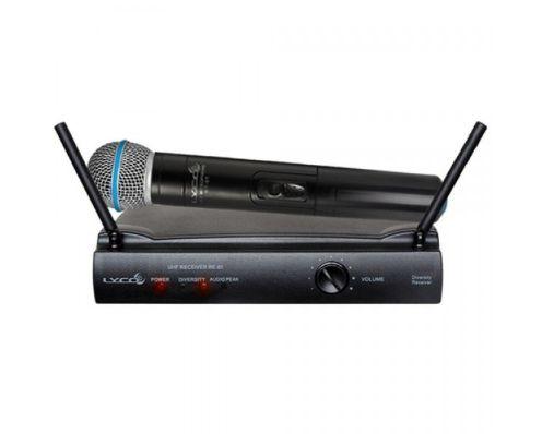 Microfone Sem Fio Profissional De Mão P/ Voz Uh01M Lyco