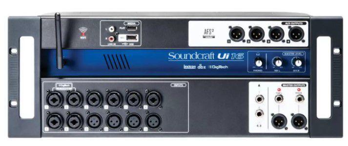 Mesa de som Digital Soundcraft UI-16